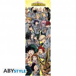 Poster de porte - My Hero Academia - Classe - 53 x 158 cm - ABYstyle