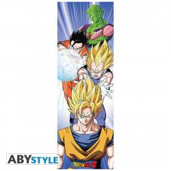 Poster de porte - Dragon Ball Z - Saiyans - 53 x 158 cm - ABYstyle