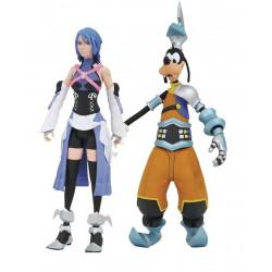 Figurine - Kingdom Hearts - Aqua & Goofy - Diamond Select