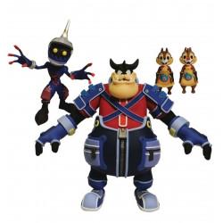 Figurine - Kingdom Hearts - Soldier Pete Chip & Dale - Diamond Select