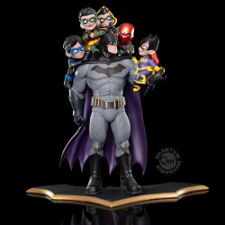 Figurine - DC Comics - Diorama Q-Master - Batman Family - Quantum Mechanix