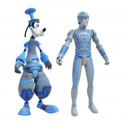Figurine - Kingdom Hearts - Goofy & Tron - Diamond Select