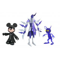 Figurine - Kingdom Hearts - Mickey Assassin & Shadow - Diamond Select