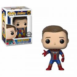 Figurine - Pop! Marvel - Avengers Infinity War - Iron Spider-Man Unmasked - Vinyl - Funko