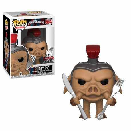 Figurine - Pop! TV - Power Rangers - Pudgy Pig - Vinyl - Funko