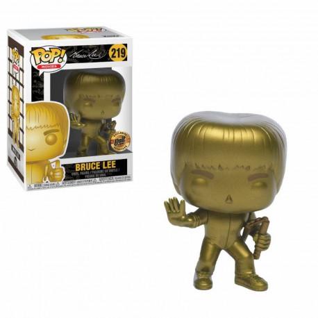 Figurine - Pop! Movies - Le Jeu de la Mort - Bruce Lee Gold - Vinyl - Funko