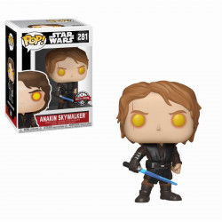 Figurine - Pop! Movies - Star Wars - Dark Side Anakin Skywalker - Vinyl - Funko