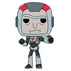 Figurine - Pop! Animation - Rick and Morty - Purge Suit Rick - Vinyl - Funko