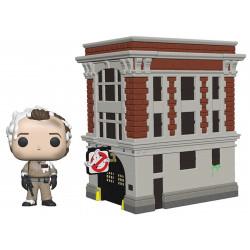 Figurine - Pop! Town - Ghostbusters - Dr Peter Venkman & House - Vinyl - Funko