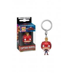 Porte-clé - Pocket Pop! Keychain - Marvel - Captain Marvel (Helmet) - Funko