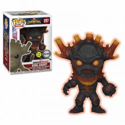 Figurine - Pop! Games - Marvel Contest of Champions - King Groot GITD - Vinyl - Funko