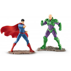 Figurine - Justice League - Coffret Superman vs Lex Luthor - Schleich
