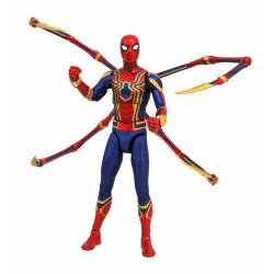 Figurine - Marvel - Marvel Select - Avengers - Iron Spider-Man - Diamond Select