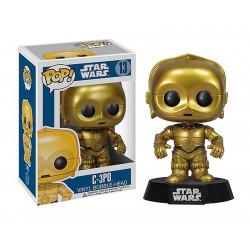 Figurine - Pop! Movies - Star Wars - C-3PO - Vinyl Figure - Funko