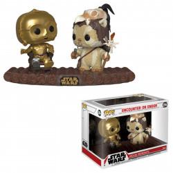 Figurine - Pop! Movie Moments - Star Wars - C-3PO on Throne - Vinyl - Funko