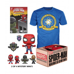 Coffret - Marvel Collector Corps - Box Spider-Man Homecoming - Funko