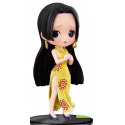 Figurine - One Piece - Q Posket - Boa Hancock Yellow - Banpresto