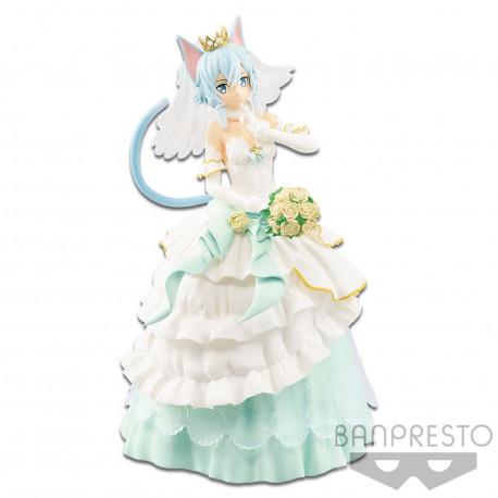 Figurine - Sword Art Online - Code Register EXQ - Wedding Sinon - Banpresto