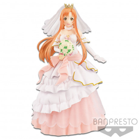 Figurine - Sword Art Online - Code Register EXQ - Wedding Asuna - Banpresto