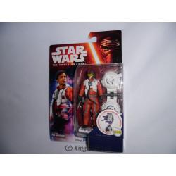 Figurine - Star Wars - Jungle/Space Wave - Poe Dameron - Hasbro