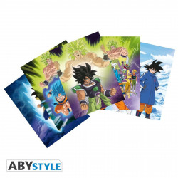 Cartes postales - Dragon Ball Super - Broly - ABYstyle