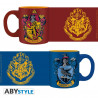 Set 2 Mugs à Espresso - Harry Potter - Gryffondor & Serdaigle - 110 ml - ABYstyle