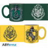Set 2 Mugs à Espresso - Harry Potter - Serpentard & Poufsouffle - 110 ml - ABYstyle