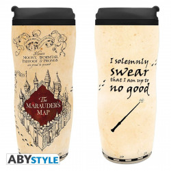 Mug de voyage - Harry Potter - Carte du Marauder - 355 ml - ABYstyle