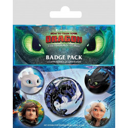 Badge - Dragons 3 - Familiar Faces - Pyramid International