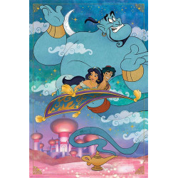 Poster - Disney - Aladdin - A Whole New World - 61 x 91 cm - Pyramid International