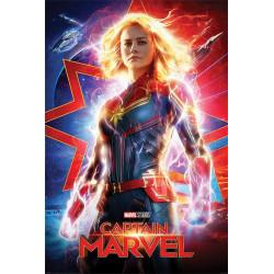 Poster - Marvel - Captain Marvel - Higher, Further, Faster - 61 x 91 cm - Pyramid International
