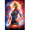 Poster - Marvel - Captain Marvel - Higher, Further, Faster - 61 x 91 cm - Pyramid International