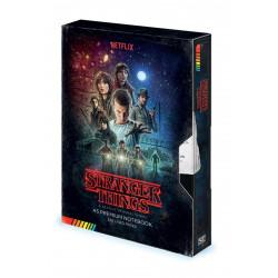 Carnet de notes - Stranger Things - VHS Premium A5 - Pyramid International