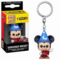 Porte-clé - Pocket Pop! Keychain - Disney - Mickey's 90th - Sorcercer Mickey - Funko