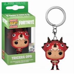 Porte-clé - Pocket Pop! Keychain - Fortnite - Tricera Ops - Funko