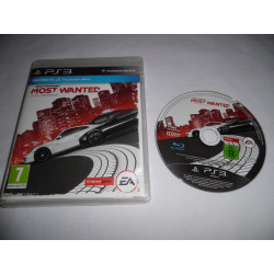 Jeu Playstation 3 - Need for Speed : Most Wanted - PS3