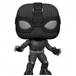 Figurine - Pop! Marvel - Spider-Man : Far From Home - Stealth Suit - Vinyl - Funko