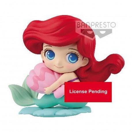 Figurine - Disney - Q Posket - Sweetiny - Ariel Normal Color ver. - Banpresto