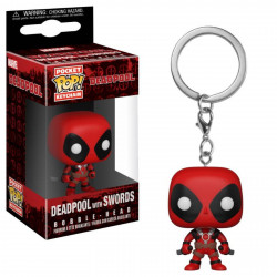 Porte-clé - Pocket Pop! Keychain - Deadpool with Swords - Funko