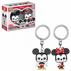 Porte-clé - Pocket Pop! Keychain - Disney - Mickey & Minnie - Funko