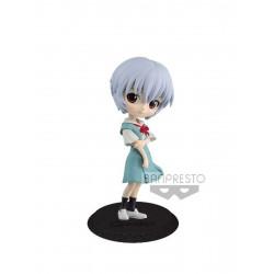 Figurine - Evangelion - Q Posket - Rei Ayanami Ver. B - Banpresto