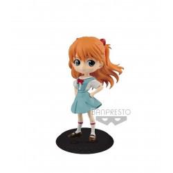 Figurine - Evangelion - Q Posket - Asuka Langley Ver. B - Banpresto