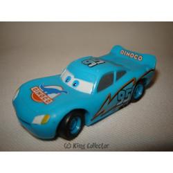 Figurine - Disney - Cars - Flash McQueen Dinocco - Bullyland