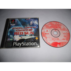 Jeu Playstation - Colony Wars : Red Sun - PS1