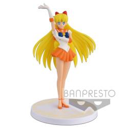 Figurine - Sailor Moon - Girls Memories - Sailor Venus - Banpresto
