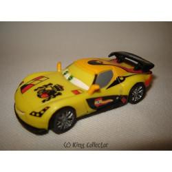 Figurine - Disney - Cars 2 - Miguel Camino - Bullyland