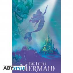 Poster - Disney - La Petite Sirène - Ariel & Ursula - 91.5 x 61 cm - ABYstyle