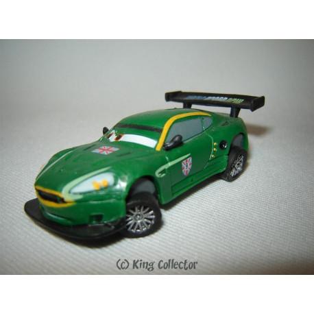 Figurine - Disney - Cars 2 - Nigel Gearsley - Bullyland