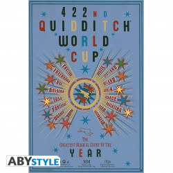 Poster - Harry Potter - Quidditch World Cup - 91.5 x 61 cm - ABYstyle