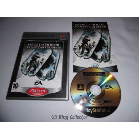 Jeu Playstation 2 - Medal of Honor : Les Faucons de Guerre (Platinum) - PS2